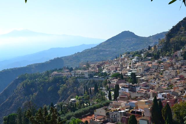 L'Etna et Taormina, Sicilia.