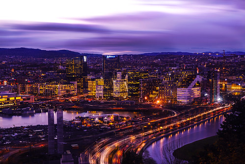 Oslo by night | by Jorn Eriksson