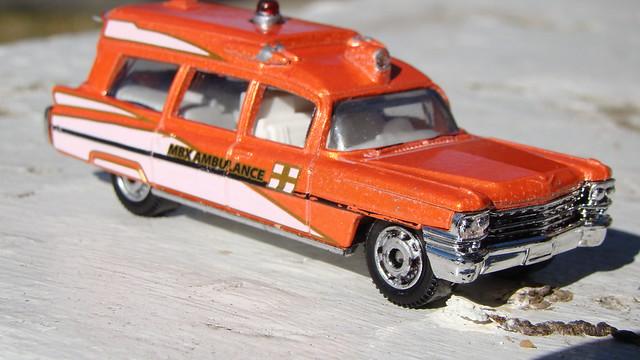 Match Box Emergency Vehicles
