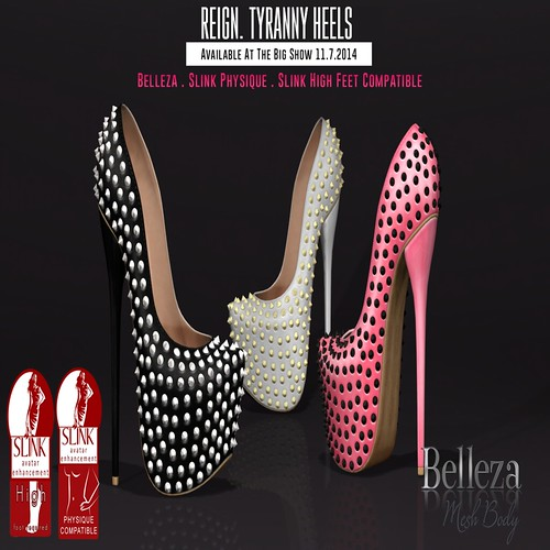 REIGN.- Tyranny Heels