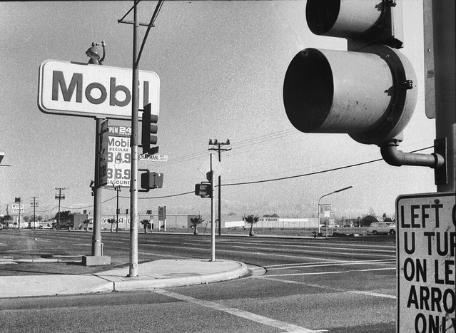 Mobil, White Front & Toys R Us - Harbor at Chapman, Garden Grove