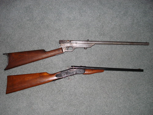 Quackenbush Safety Rifle & Hamilton Boys rifle