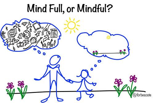 CC image Mind Full v. Mindful by Heidi Forbes Öste at Flickr