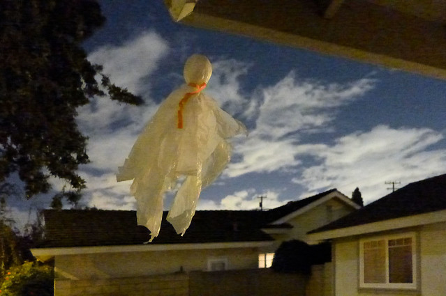 Halloween 2014 Floating Ghost