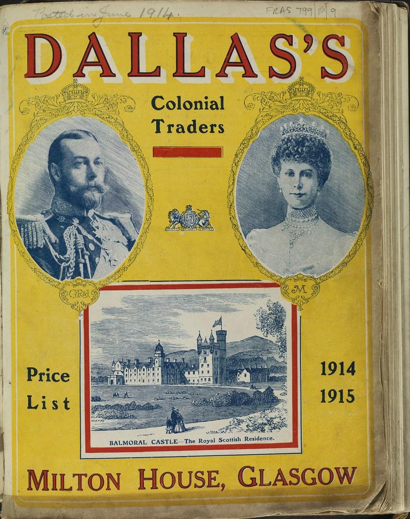 Catalogue for Dallas's Ltd, 1914-15 | Dallas's was first est… | Flickr