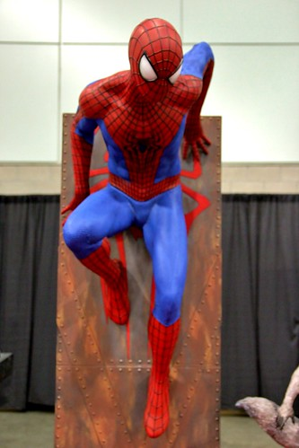 spiderman life size statue | by RyC - Behind The Lens