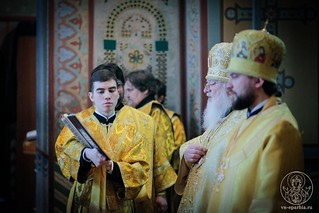 Литургия в Софийском соборе 310