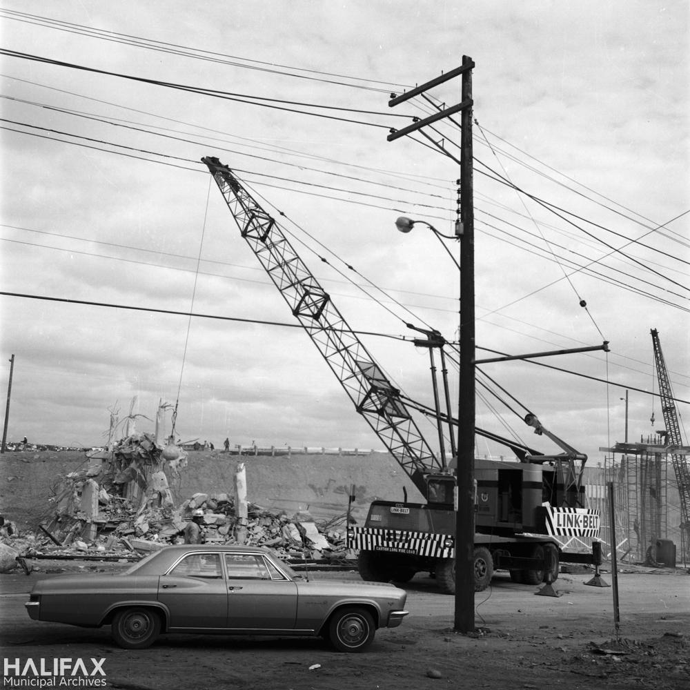 Demolition of [2035/2045] Barrington St., [Salvation Army] building