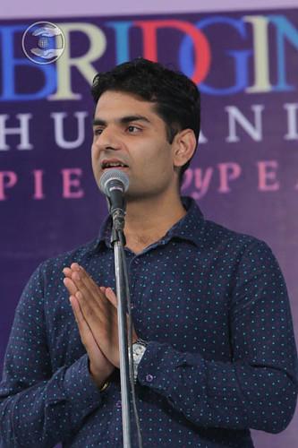 Sandeep Chaudhary from Bangaluru, expresses his views
