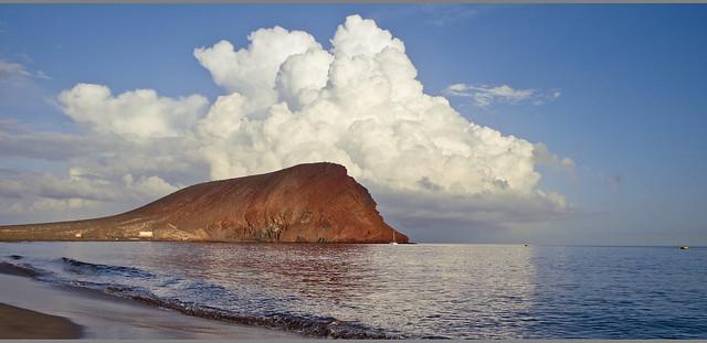 Der Berg und die Wolke