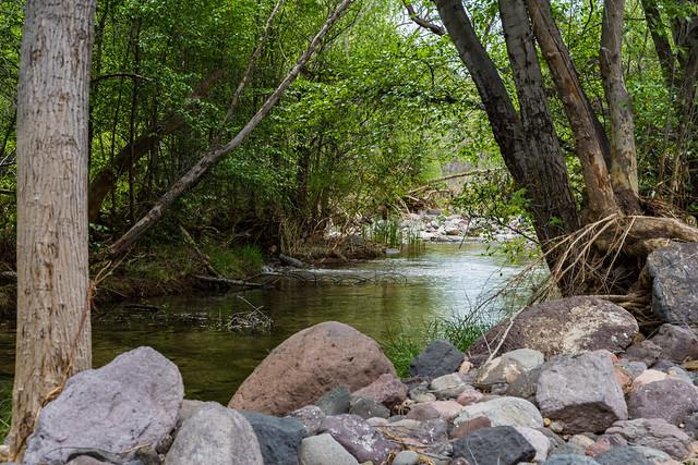 Purple Mountain on Fossil Creek