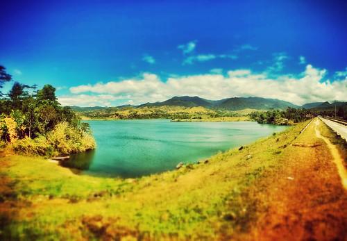 lake nature miniature philippines baler
