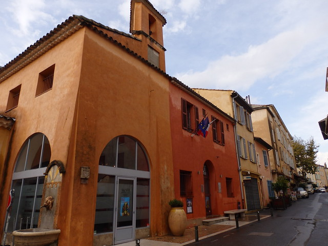 Along the Rue Saint Sébastien, Biot