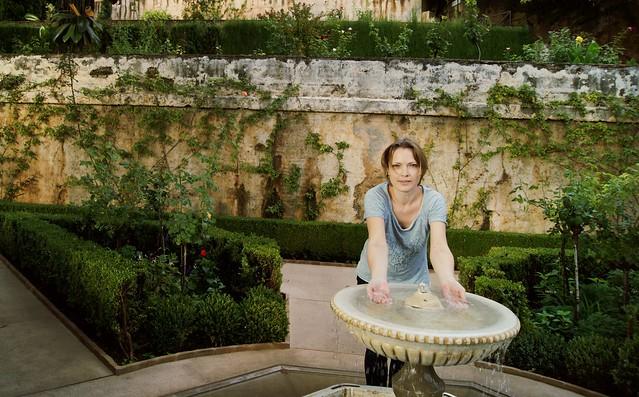 Generalife fountain