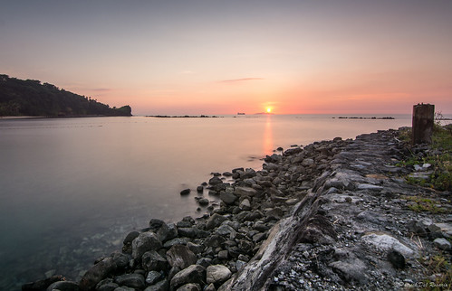 ocean longexposure sunset sea sky sun seascape beach water clouds sunrise island rocks philippines resort batangas province nightcap nasugbu oceanscape