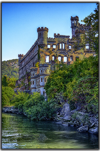 building castle architecture river landscape island hudson bannermansisland infinitexposure