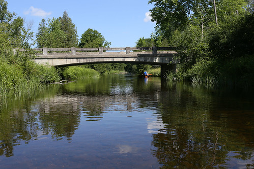 bridge ontario canada rural river stream uxbridge