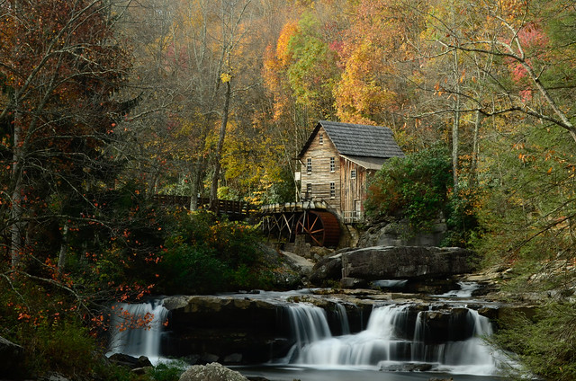 Glade Creek Grist Mill 2