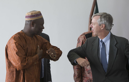 UN Secretary-General Special Representative Anthony Banbury visits Ebola affected countries