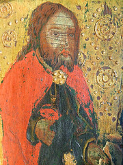 Mattishall screen: St James (15th Century)