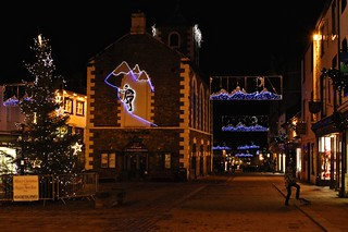 Keswick center, Christmas, Lake District, UK, KW | by www.traveljunction.com