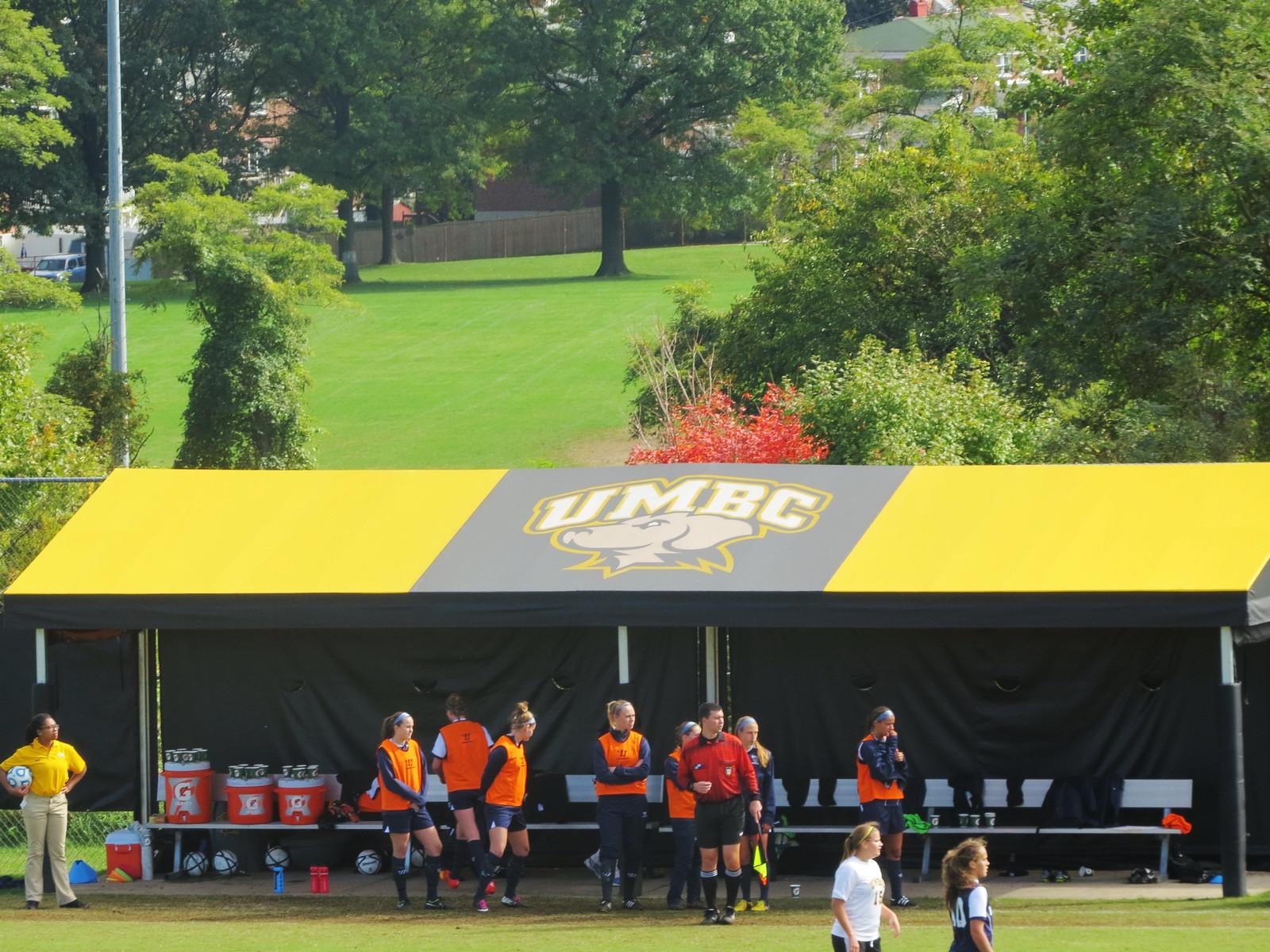 Soccer Awning Baltimore School