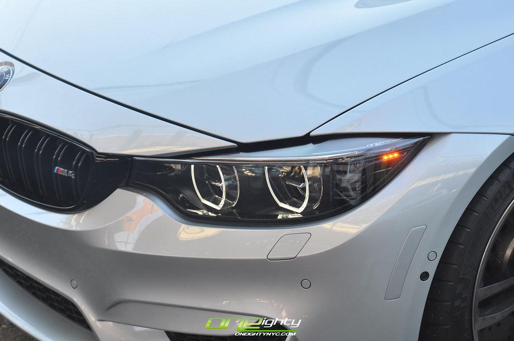 Bmw M4 F8x Blk Out Led Headlights Bmw F8x 2015 M3m4 F Flickr