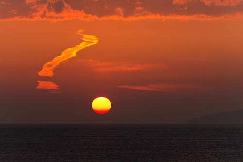light sunset sea sky nature japan landscape photography nikon scenery 70300mm d800 nikoor