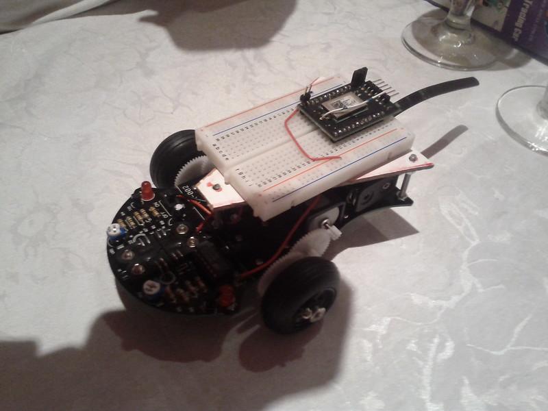 Follow-Line roboter (OSDomotics)