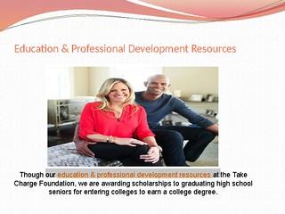 Education & Professional Development Resources
