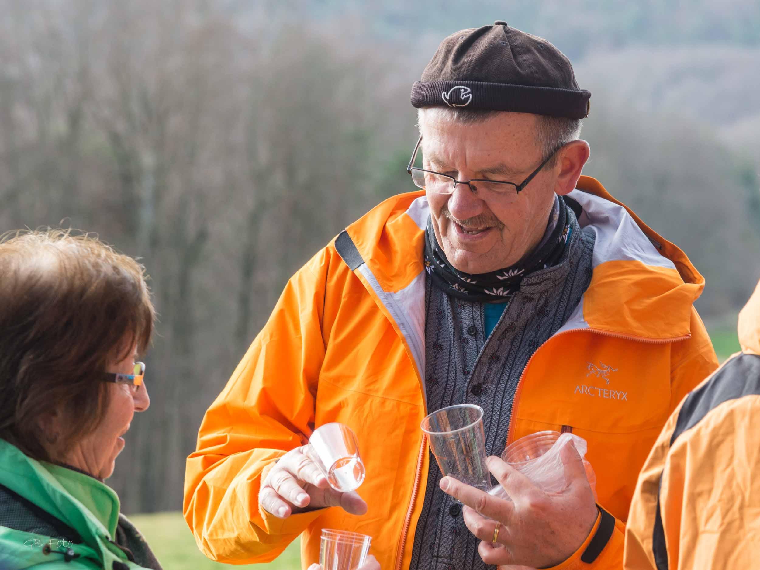 Seniorenwanderung Sissach - Rheinfelden 02.03.2017