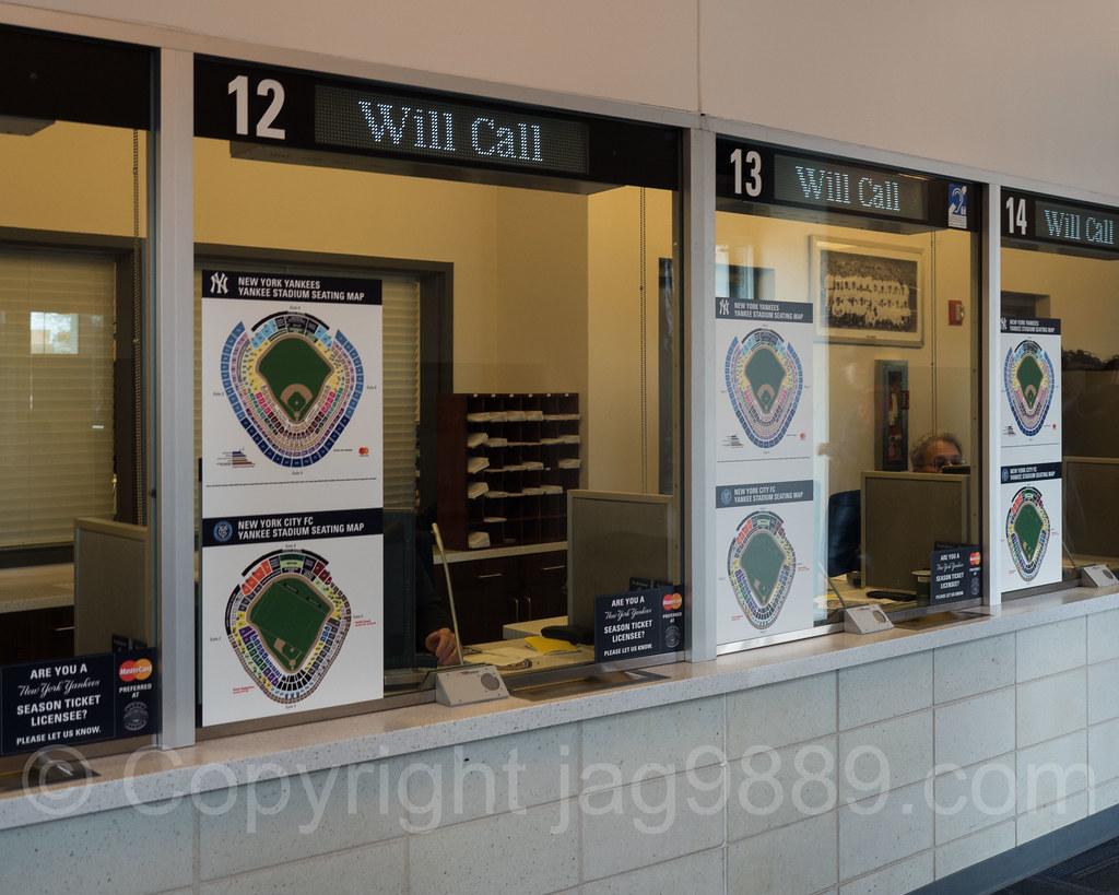 Will Call Ticket Office At Yankee Stadium The Bronx New