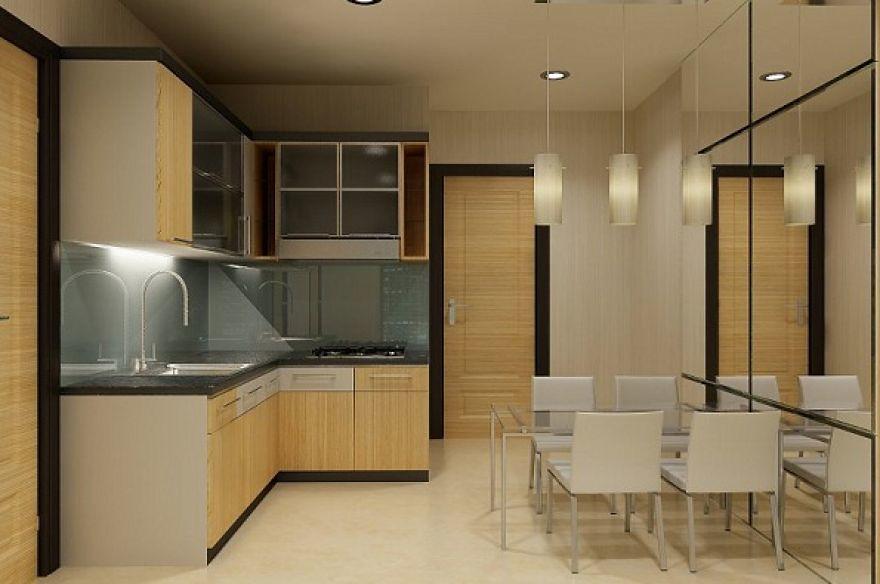 Dazzling Scheme For Natural Kitchen Set Minimalis Modern O Flickr