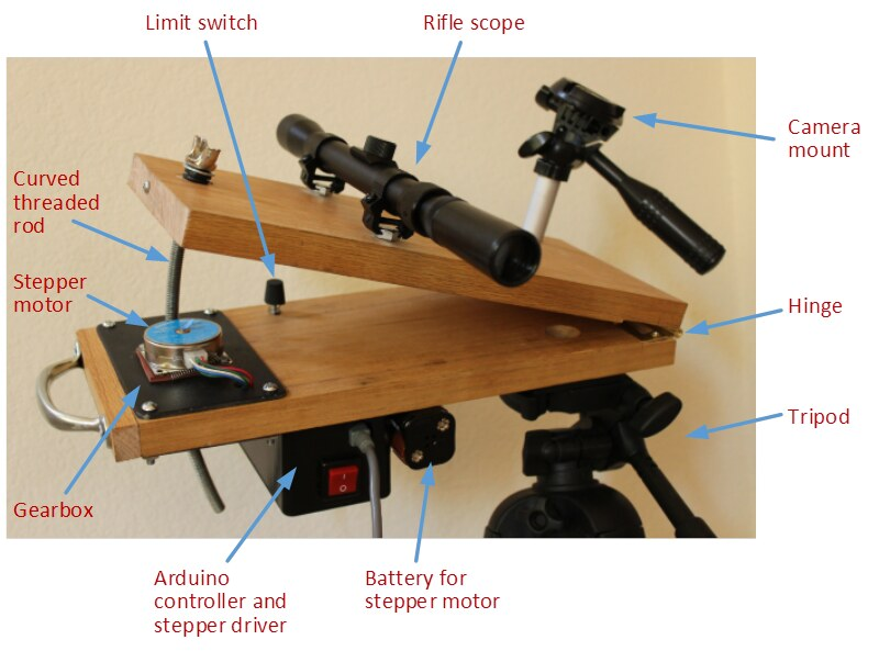 Barn Door Tracker for dSLR Astrophotography | My home-made B… | Flickr