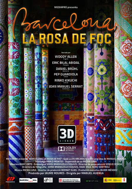Cartell Barcelona, la rosa de foc
