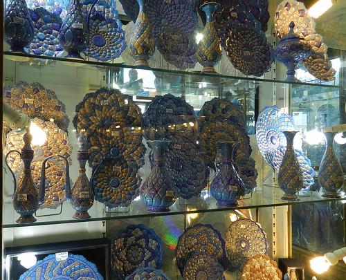Cerámica Bazar de Isfahán Irán 08