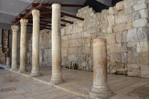 Reconstructed southern section of the Cardo Maximus of Aelia Capitolina dating to the Byzantine era, Jerusalem | by Following Hadrian