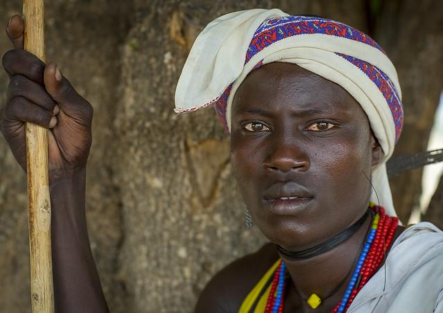 Erbore Tribe Man, Erbore, Omo Valley, Ethiopia