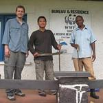 Sat, 06/30/2012 - 11:17pm - Our team at Luki Bioshpere Reserve