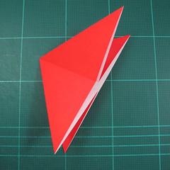 วิธีพับกระดาษเป็นรูปแมลงปอ (Origami Dragonfly) 006