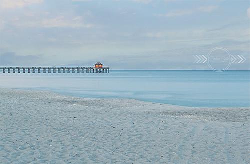 ocean morning beach nature weather sunrise canon outdoors pier gulf florida naples canonrebel gulfcoast naplesflorida naplesfl naplespier swfl naplesbeach rebelt1i