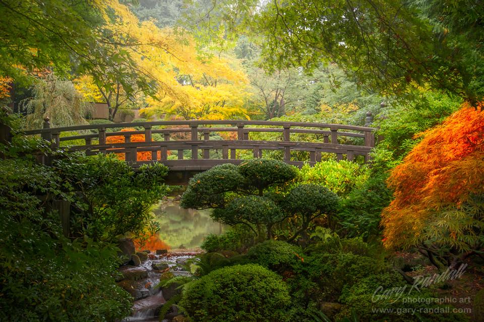 Zen Garden Bridge Portland Japanese Garden Portland