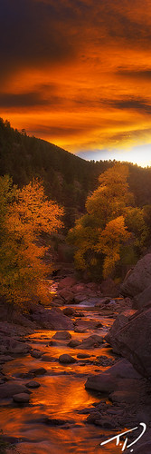 statepark sunset panorama interesting colorado colorful hiking vibrant exploring vivid boulder climbing bouldering exciting glowinglight eldoradocanyon tylerporter professionallandscape insanesunset tylerporterphotography