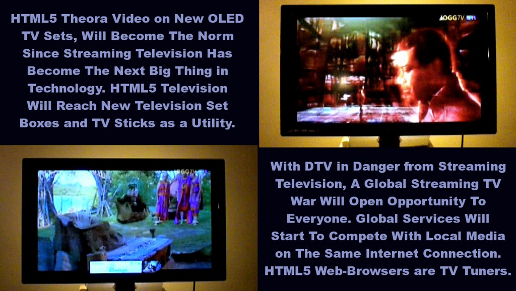 HTML5 Web-Browsers Will Compete in Global TV Markets | Flickr