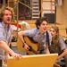 Ben Winger, Tom Mackley, Emily Byrt & Neshla Caplan_BFG Rehearsals 2014