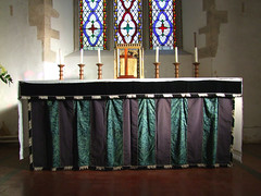 high altar with tabernacle