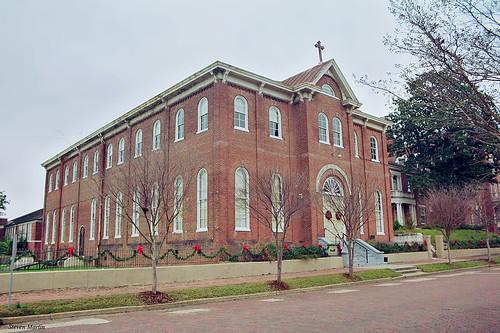 cityscape architecture convent school italianate brickstreetsouthernculturalheritagefoundation vicksburg mississippi