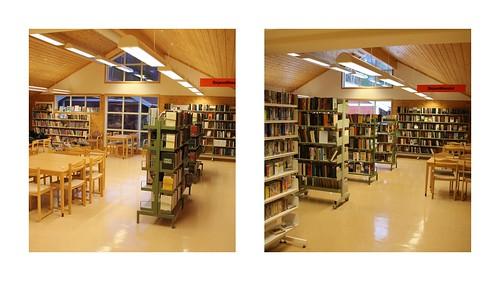 Kollasjer Veggli før og etter fra inngangen   by buskfyb