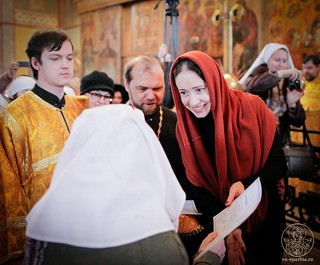 Литургия в Софийском соборе 435