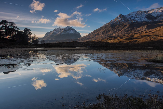 Evening Light on Torridon ..